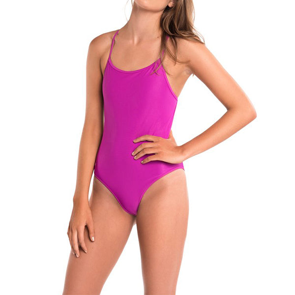Women's All American Solid One-Piece