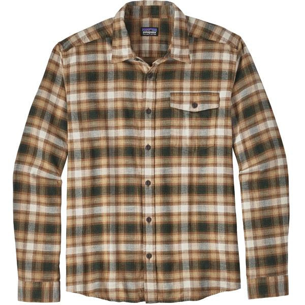 Long Sleeve Lightweight Fjord Flannel Shirt CO