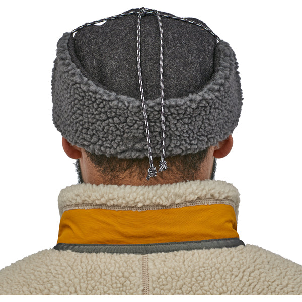 Recycled Wool Ear Flap Cap alternate view