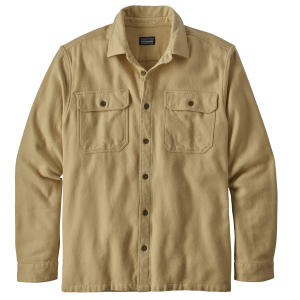 Patagonia Men's LS Fjord Flannel Natural Dye