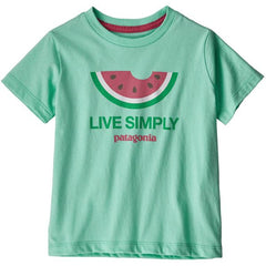 Girls' Baby Live Simply Organic Cotton T-Shirt - Infant
