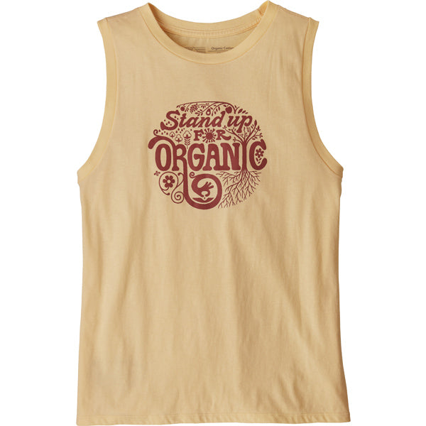 Women's Root Revolution Organic Muscle Tank