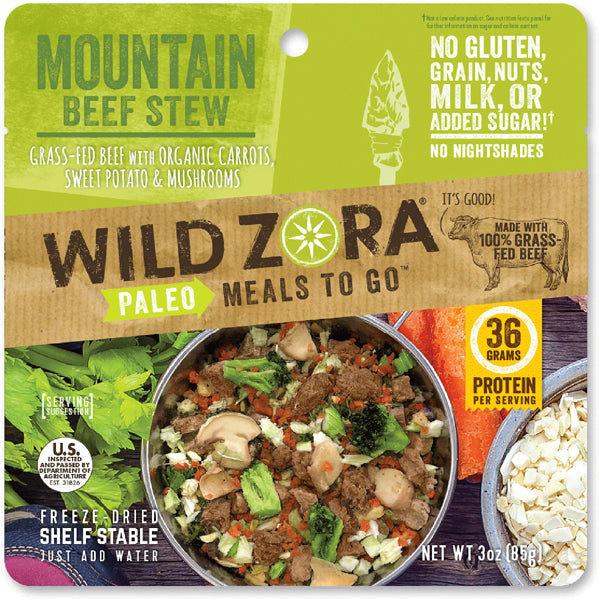 Mountain Beef Stew (1 Serving)