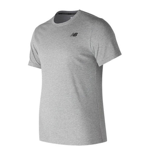 New Balance Men's Heathered Short Sleeve
