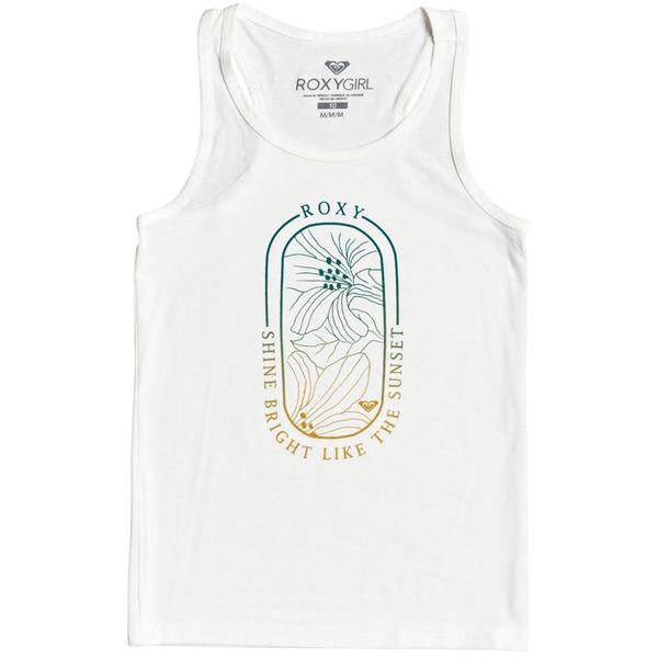 Roxy Girls' Beach Lover Racerback Tank Top
