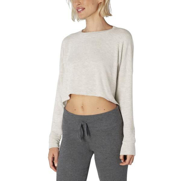 Women's Brushed Up Cropped Pullover