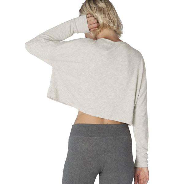 Women's Brushed Up Cropped Pullover alternate view