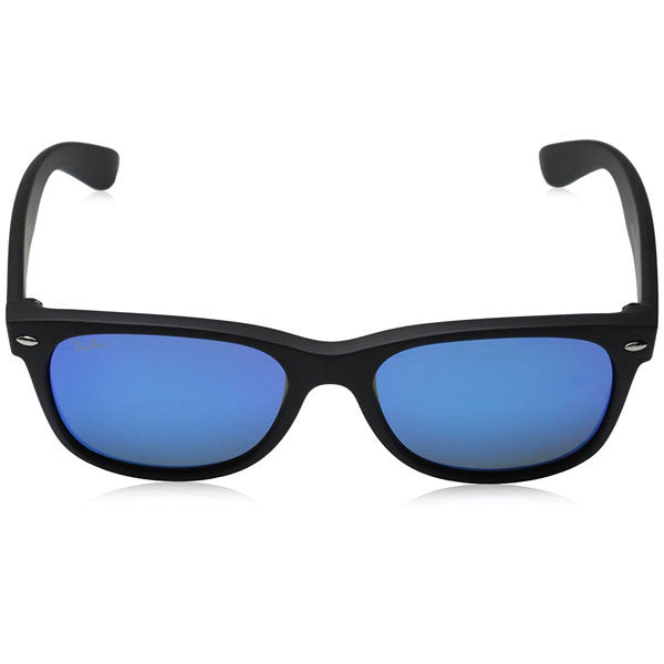 New Wayfarer - Rubber Black/Mirror Blue
