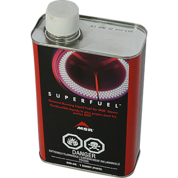 MSR Superfuel Gas Stove Fuel - 1 Qt