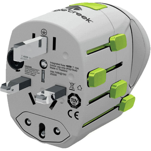 USB Universal Travel Adapter Pro alternate view
