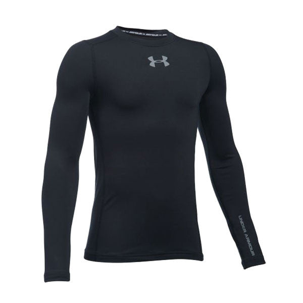Under Armour Youth UA Coldgear Armour Crew Long Sleeve