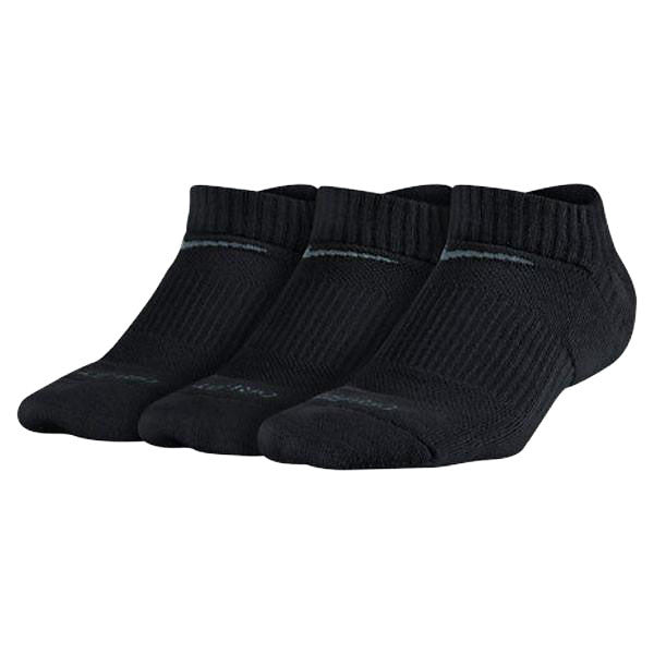 Youth Dri-FIT Cushion No-Show Socks (3 Pack)