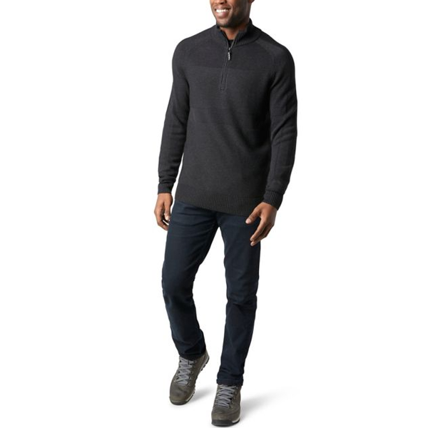 Men's Ripple Ridge Half Zip Sweater alternate view