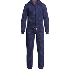 Girls' Cozy Up Technical Hooded Quilted Jumpsuit