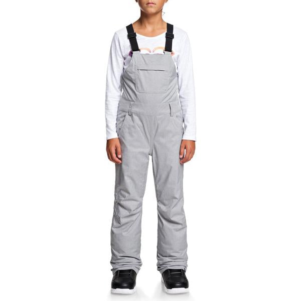 Roxy Girls' Non Stop Snow Bib Pants