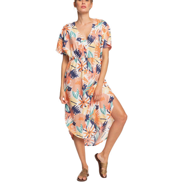 Women's Flamingo Shades Short Sleeve Dress