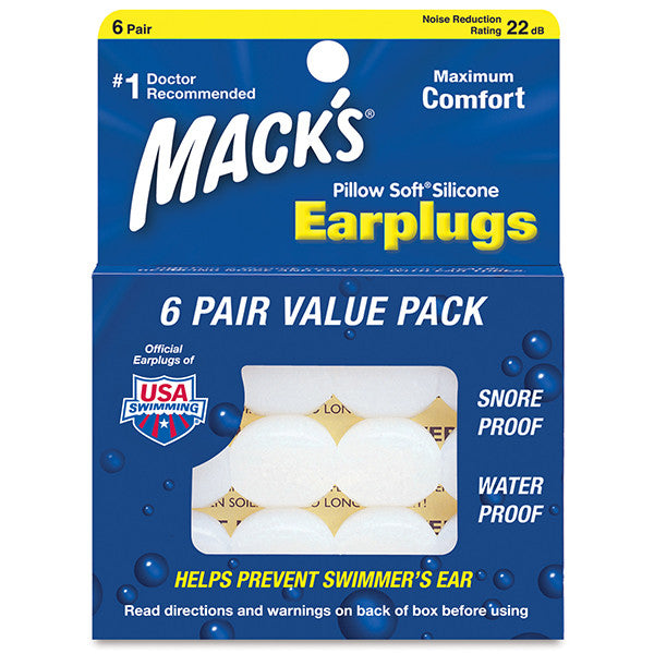 Pillow Sof Silicone Earplugs Value Pack