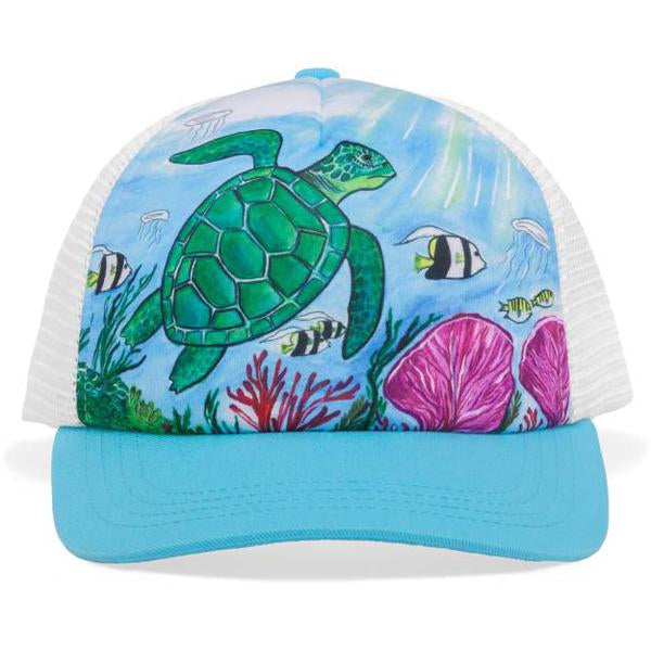 Youth Artist Series Trucker Sea Turtle