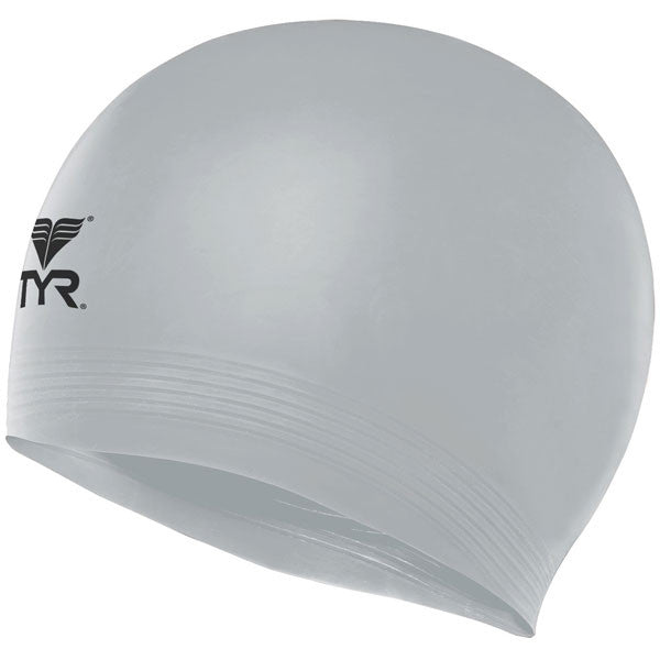 Latex Swim Cap - Silver