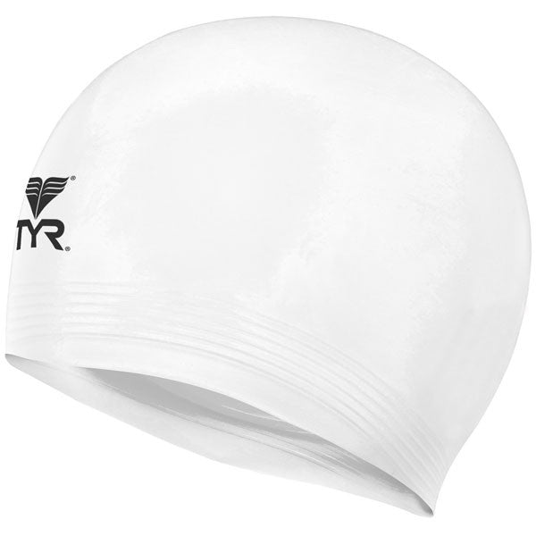 Latex Swim Cap White