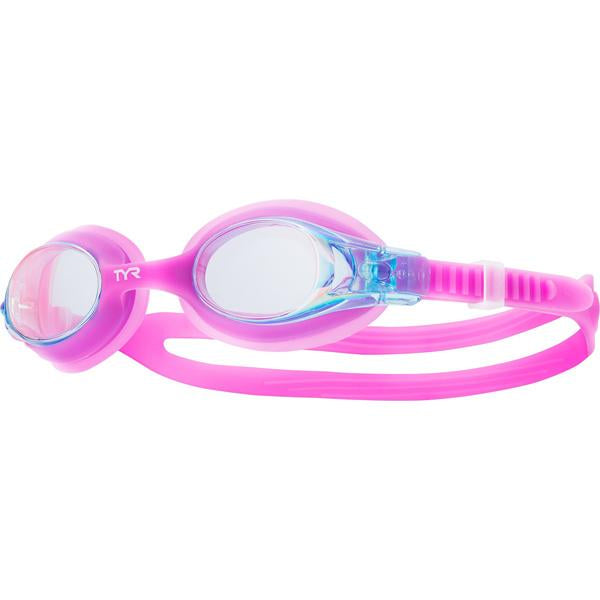 Girls' Swimples Mirrored Goggles - Berry Fizz