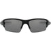 Alternate view Flak 2.0 - Polished Black/Black Iridium Polarized