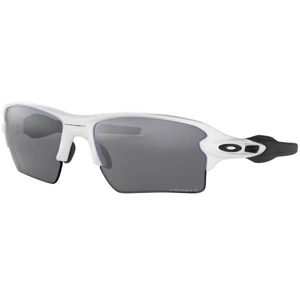 Flak 2.0 XL - Polished White/Prizm Black Polarized alternate view