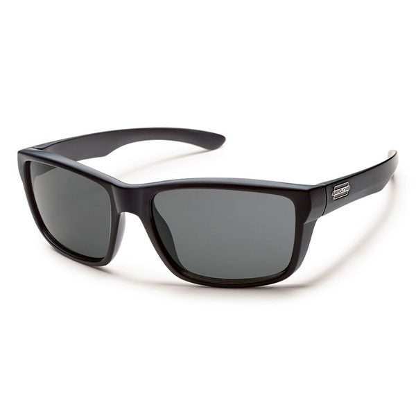 Suncloud Mayor - Matte Black / Gray Polarized