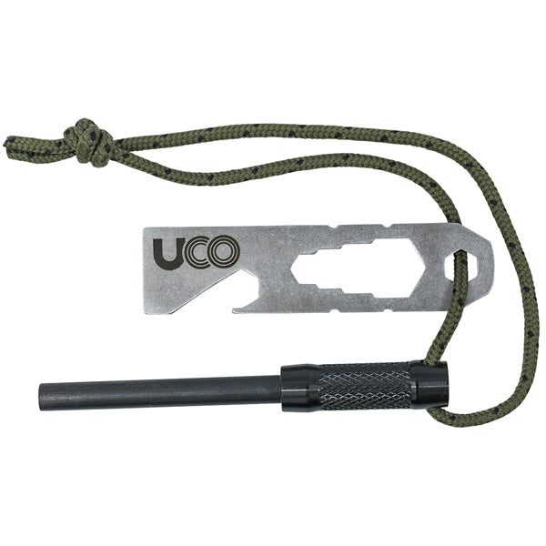 UCO Fire Steel Survival Kit w/ Tether