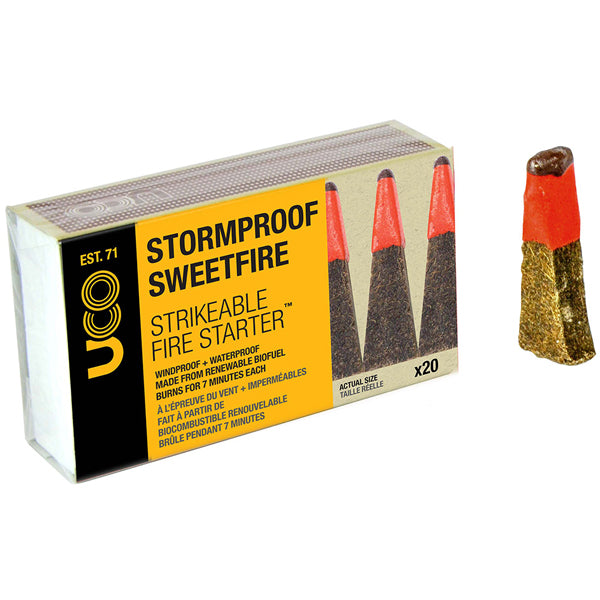 Industrial Revolution Stormproof Sweetfire Firestarter (20 Pack)