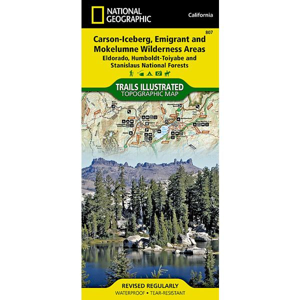 Carson-Iceberg, Emigrant, and Mokelumne Wilderness Areas
