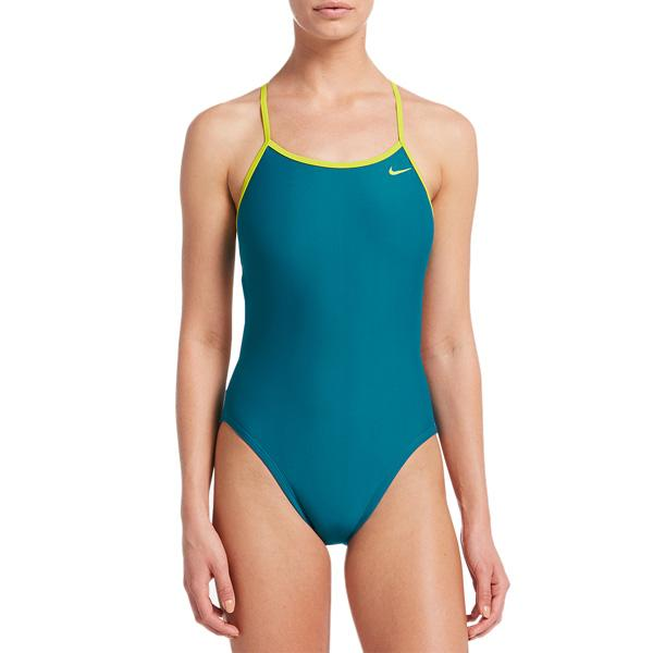 Women's Solid Crossback Cut-Out One-Piece
