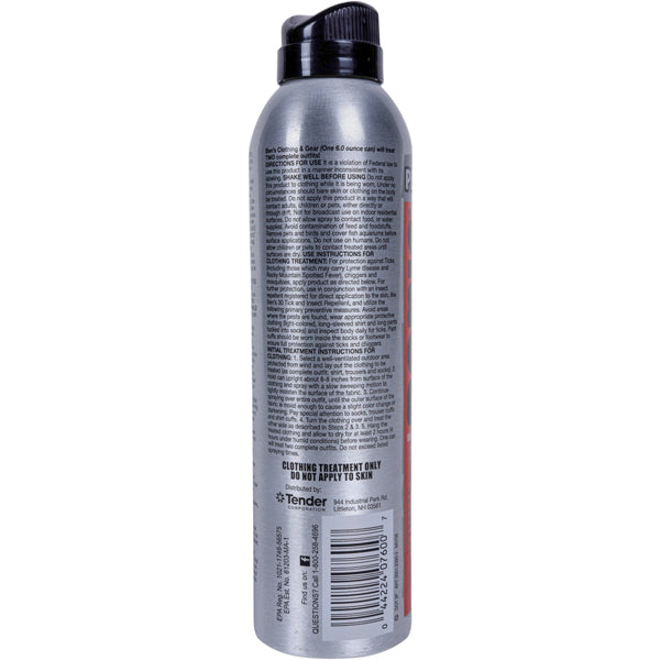 Clothing & Gear Permethrin Spray 6 oz alternate view