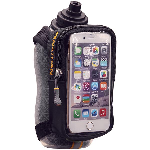 Nathan SpeedView Plus Insulated 18oz Flask + Phone Case