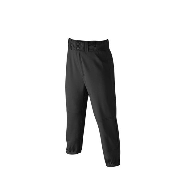Youth Team Poly Pant - Black