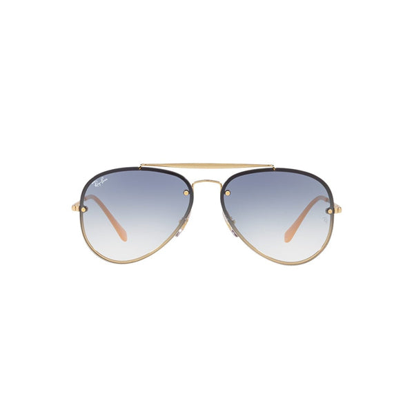 Aviator - Gold/Gradient Light Blue