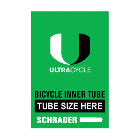Ultracycle Bicycle Tube 24  x 1.5-1.75 Schrader 33mm