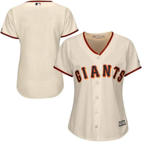 Women's SF Giants Cool Base Home Jersey
