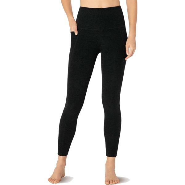 Women's Spacedye Out of Pocket High-Waisted Midi Legging