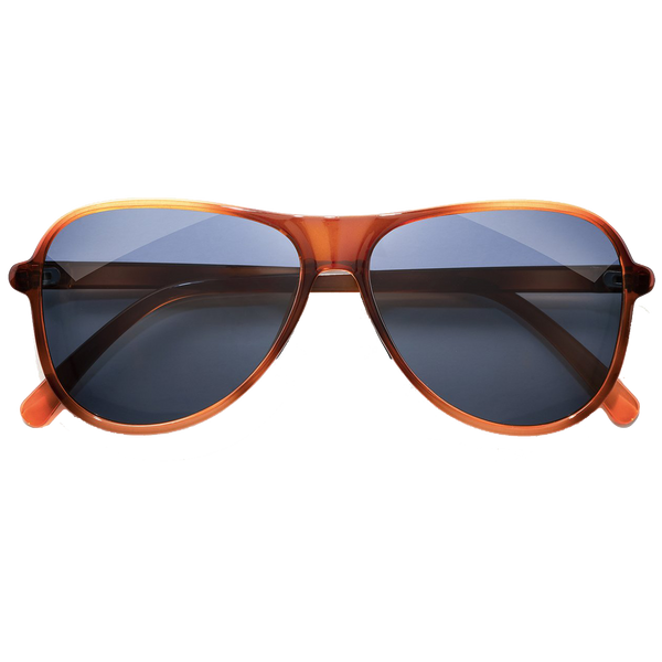 Sunski Foxtrot - Caramel/Midnight
