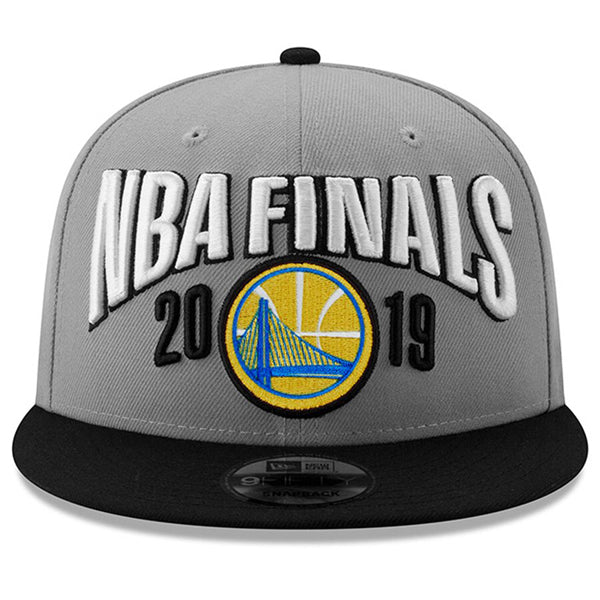 Golden State Warriors 2019 Western Conference Champions On-Court Hat alternate view