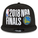 Alternate view Warriors Western Conference Champs 2018 9Fifty