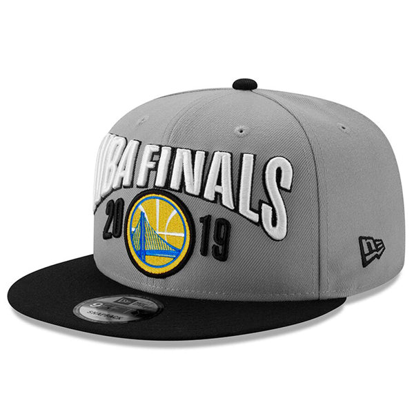 Golden State Warriors 2019 Western Conference Champions On-Court Hat