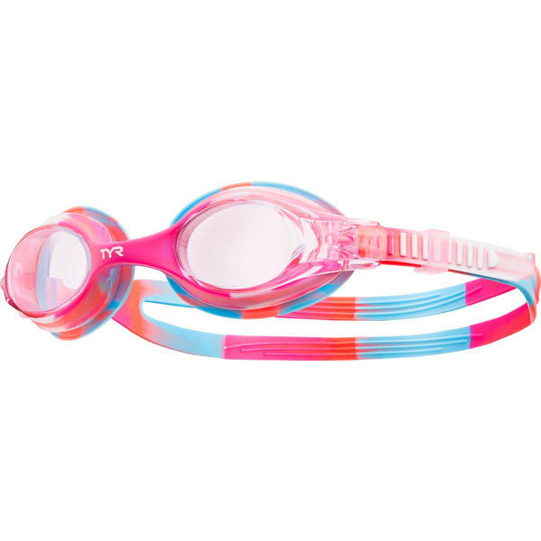 TYR Girls' Swimples Tie Dye Goggle