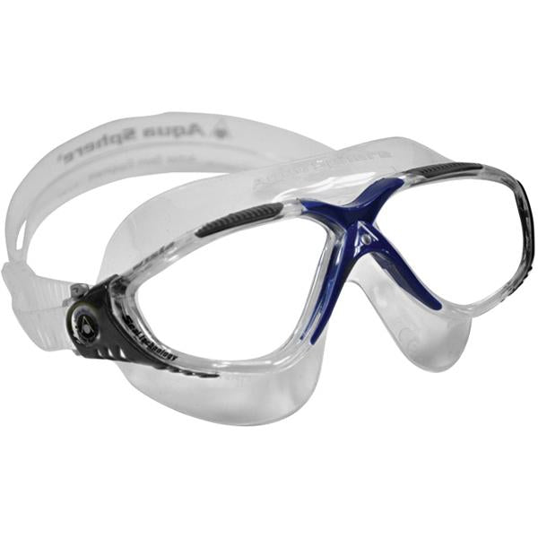 Vista - Grey & Blue Frame / Clear Lens