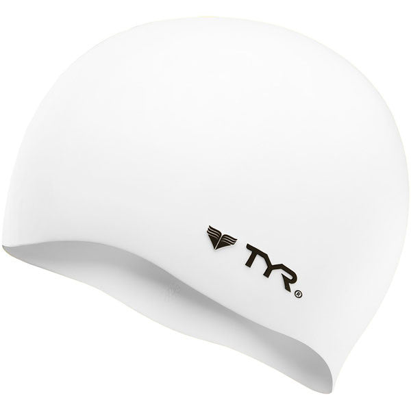 TYR Wrinkle Free Silicone Cap - White