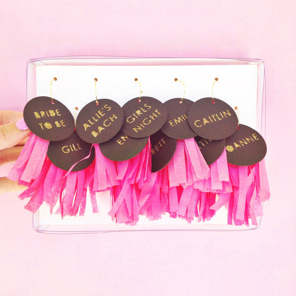 Custom Tassel Wine Tags