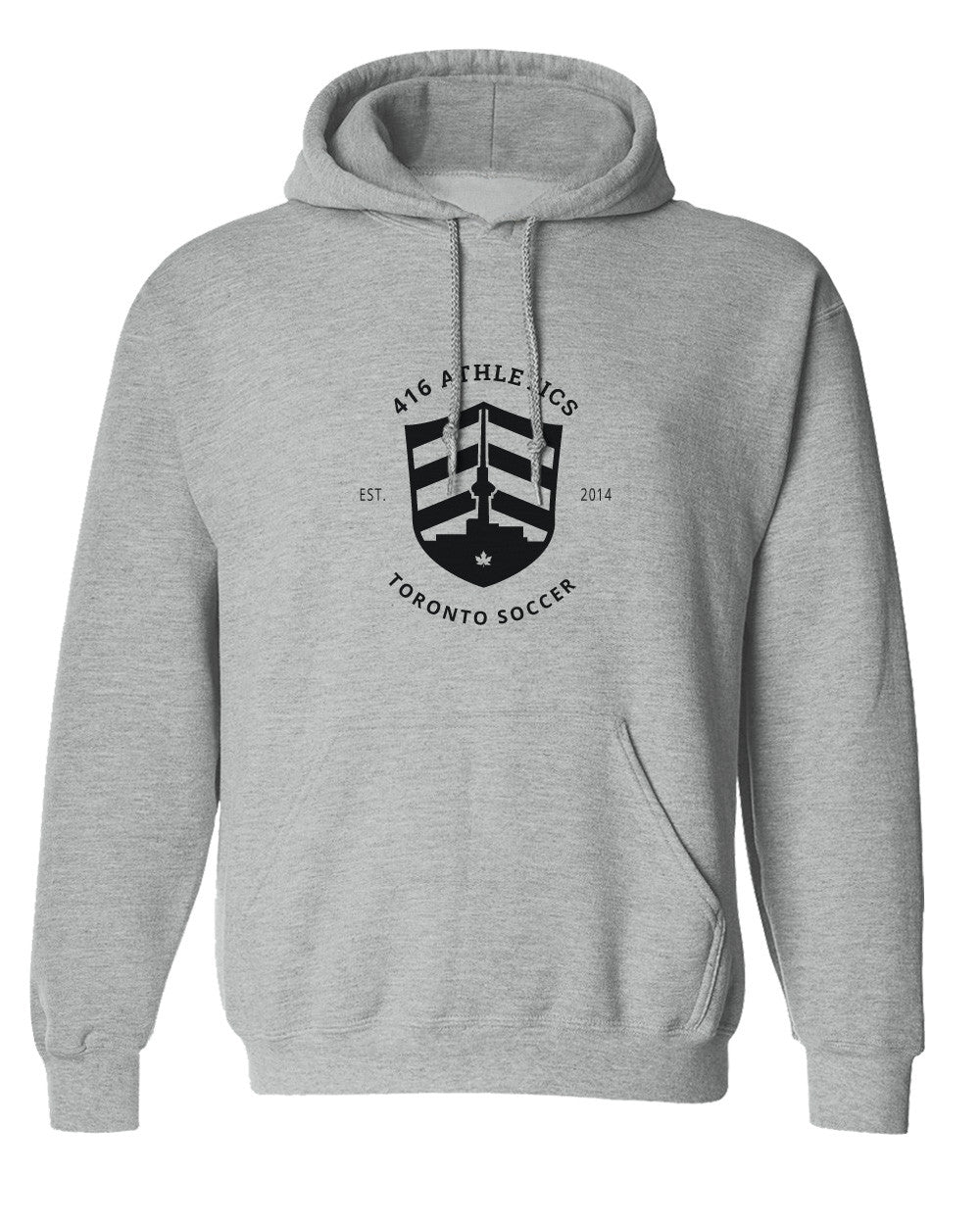 416 Athletics | Grey Hoodie