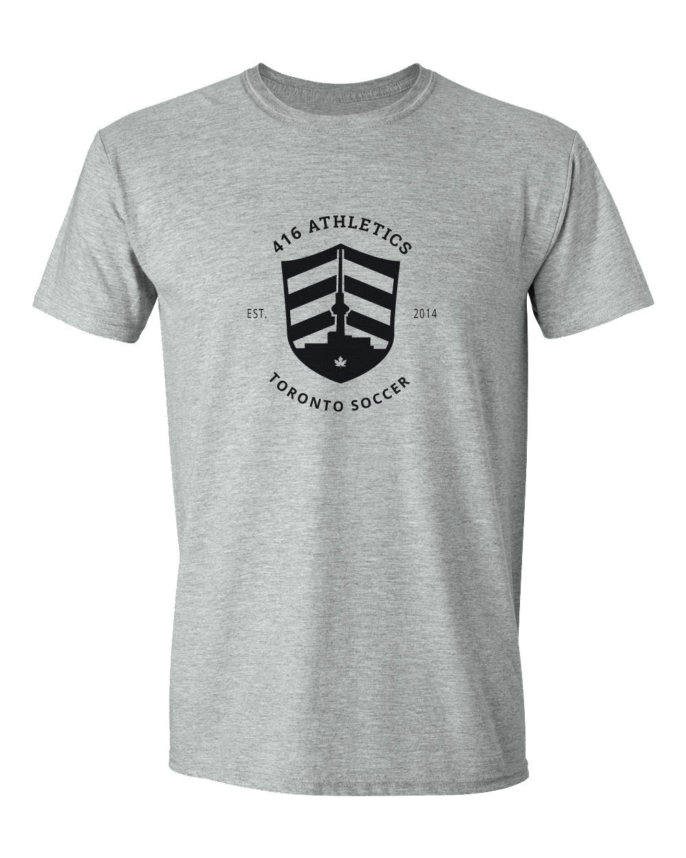 416 Athletics | Grey Tee