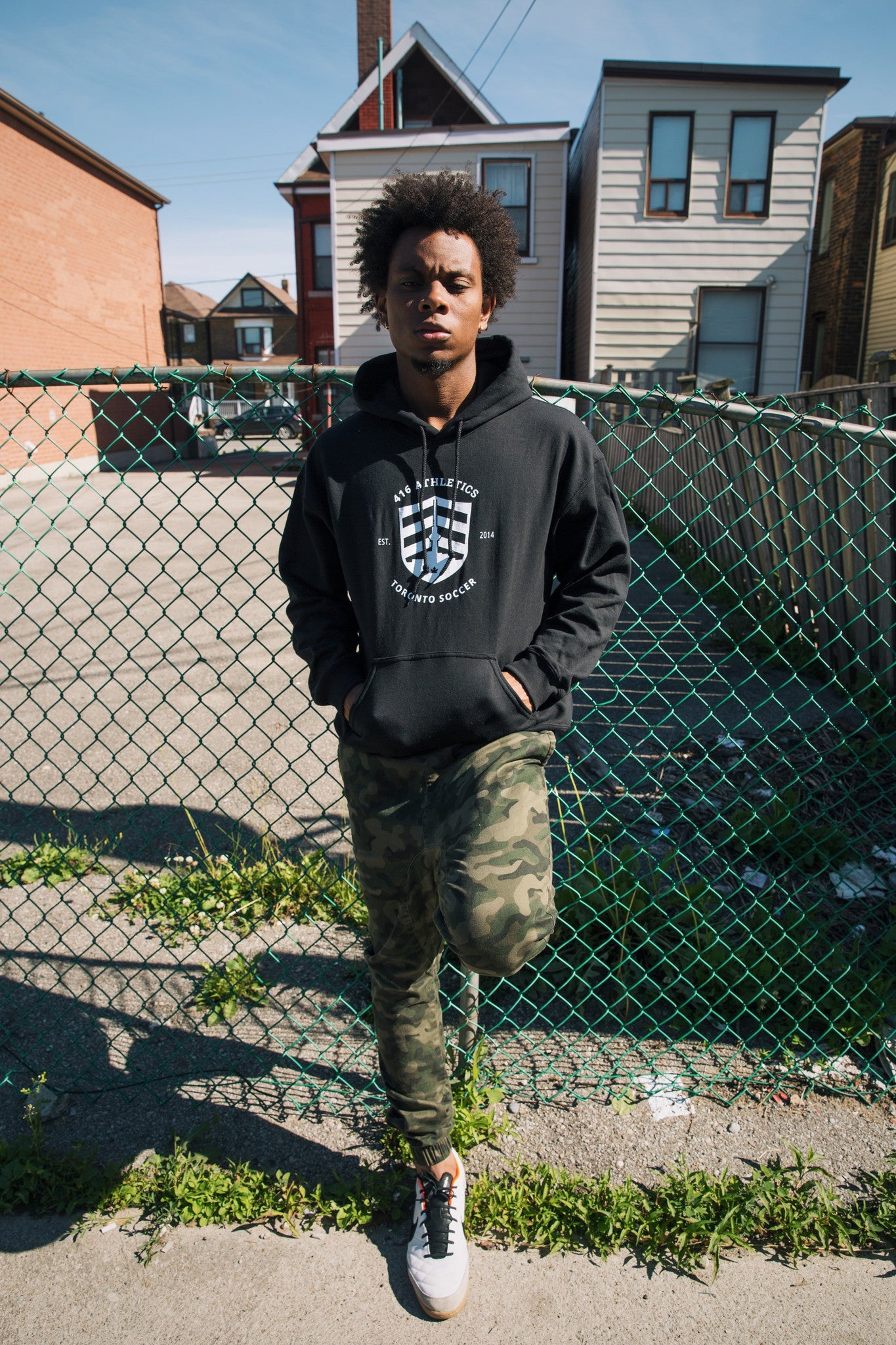 416 Athletics | Black Hoodie